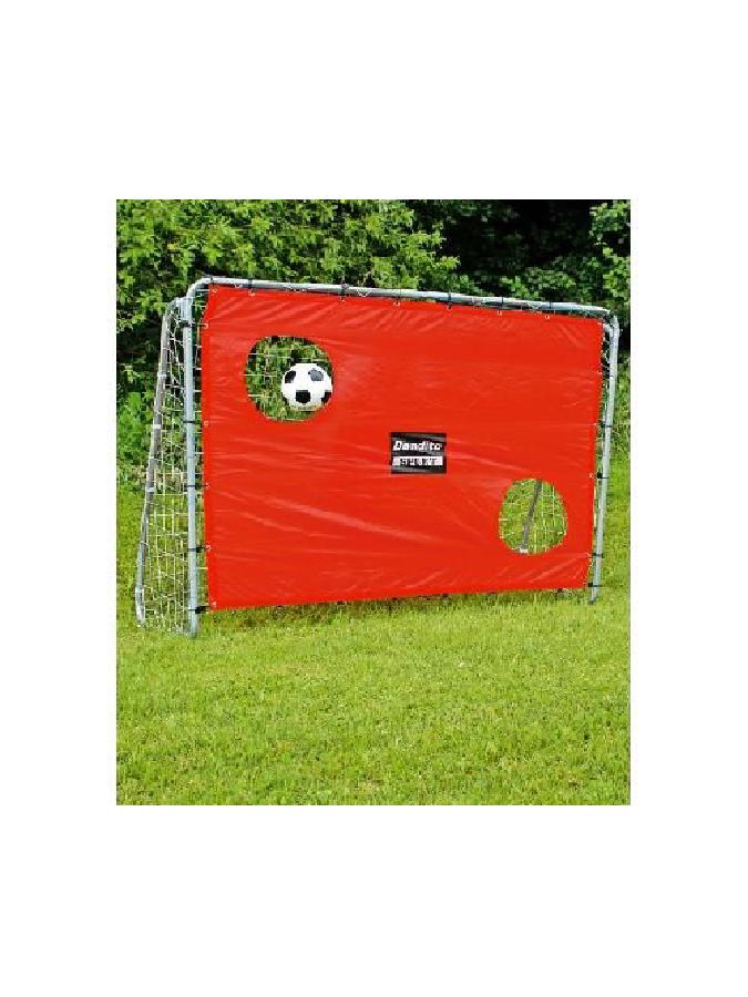Fußballtor mit Torwand