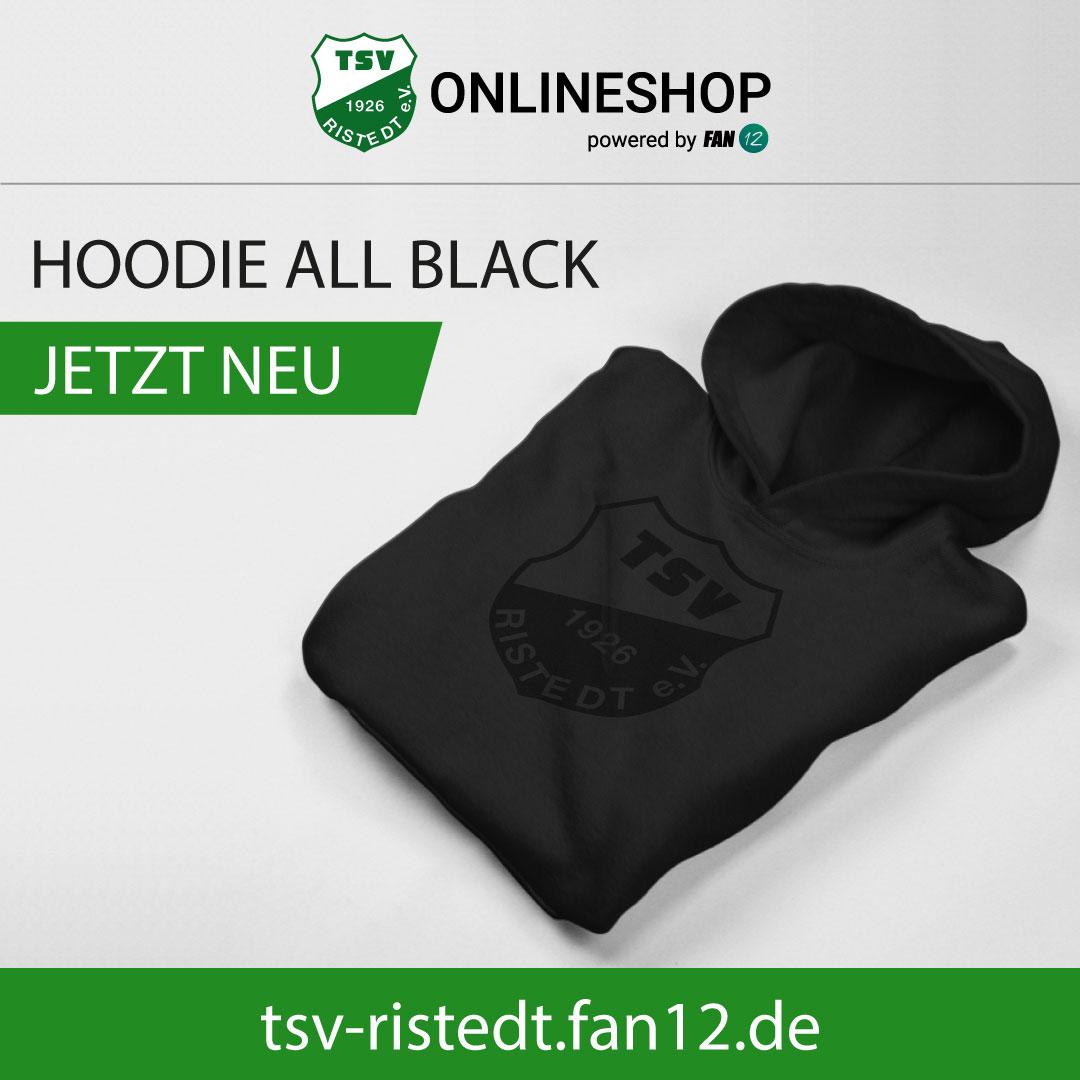 Hoodie All Black