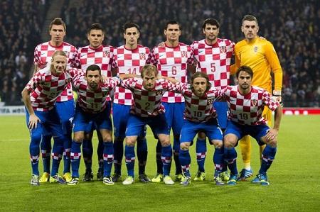 Mannschaftsfoto für Kroatien