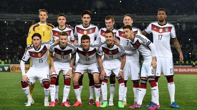 Mannschaftsfoto für Deutschland